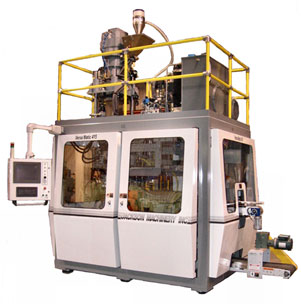VersaMatic® Shuttle Clamp Continuous Extrusion Blow Molding Machine